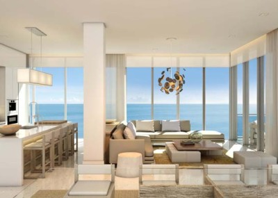 1 Hotel & Homes South Beach Penthouse Living Room Rendering (1)2